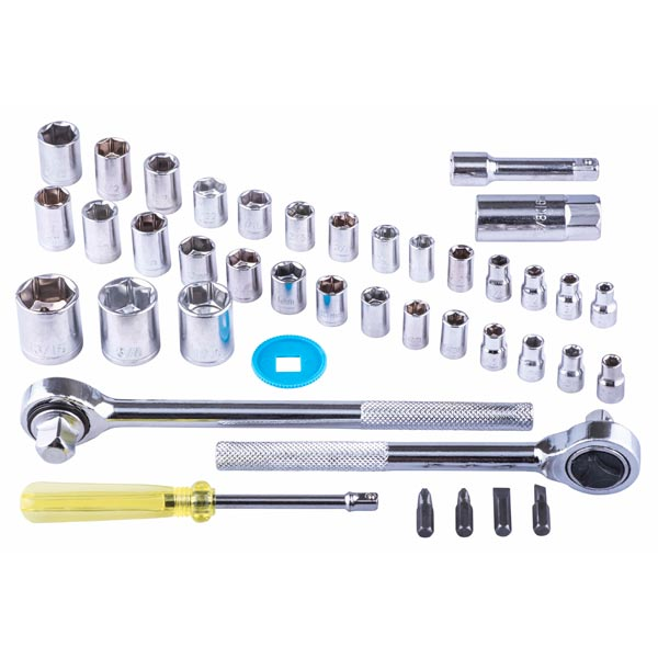 Am-Tech 52pc Socket Set