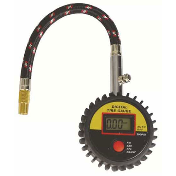 Streetwize Digital Tyre Gauge with Hose