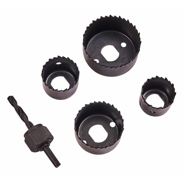 Am-Tech 5pc Hole Saw Set