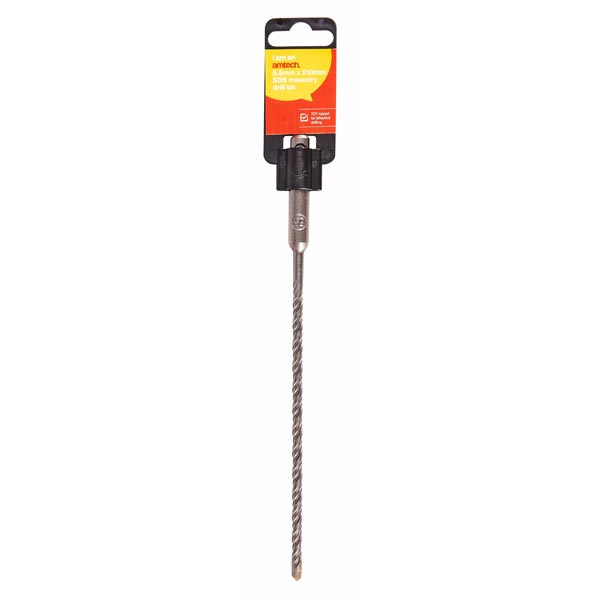 Am-Tech SDS Masonry Drill Bit 5.5mm X 210mm