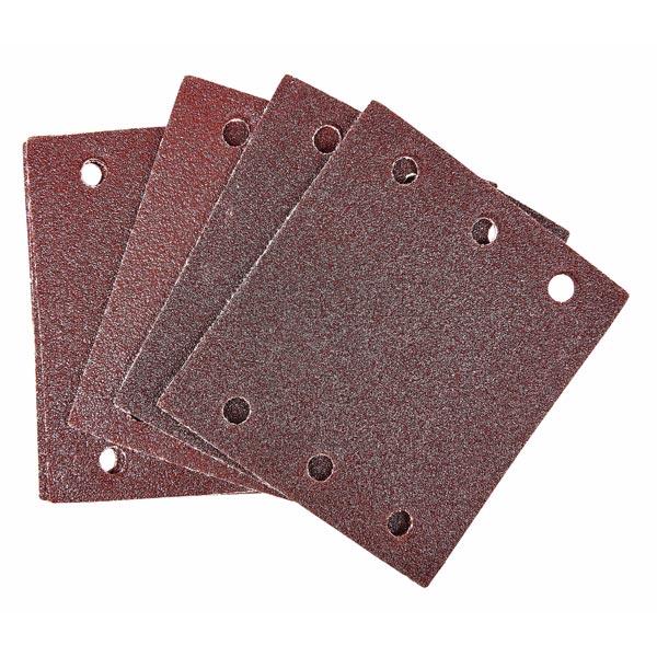 Am-Tech 10pc Square Sanding Sheet Set (P80 Grit ) (110 X 100mm)