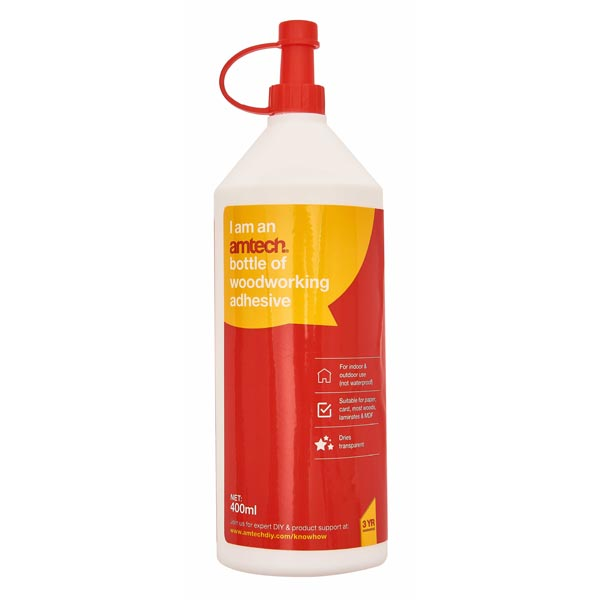 Am-Tech 400Ml Woodworking Adhesive