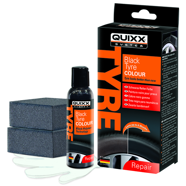 Quixx Black Tyre Colour Restoration Kit