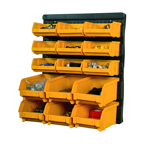 ArtPlast Parts Bins with Panel