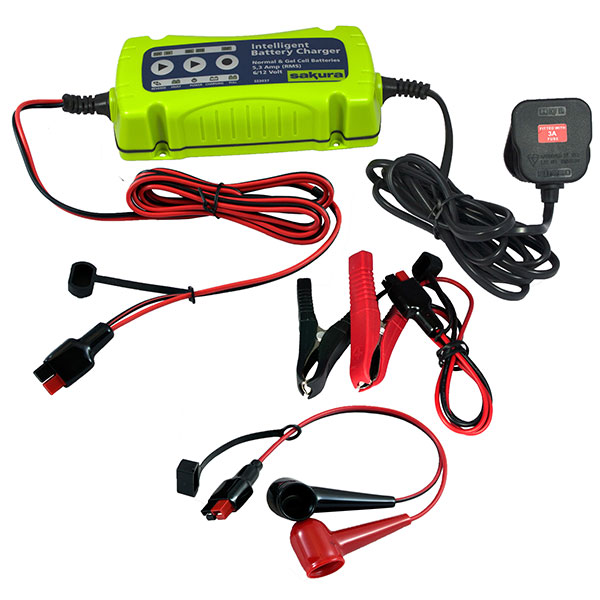 Sakura 5.3a Inteligent Battery Charger