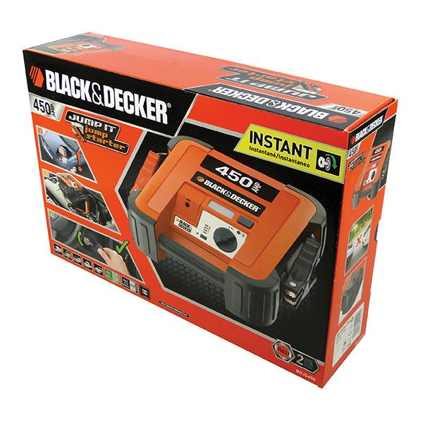 Black & Decker Instant Start Booster Pack - 450amp with light