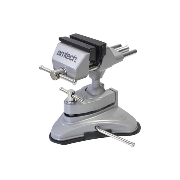 Am-Tech Table Vice - Suction Mount