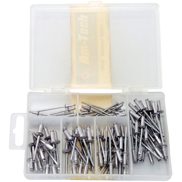 Am-Tech Assorted Rivets (100 Pieces)