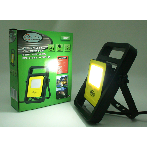 Free Standing SMD Work Lamp 10W - Waterproof 240V