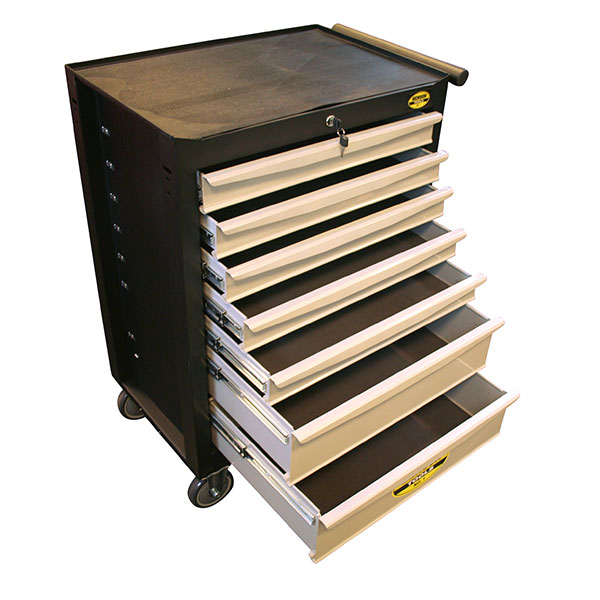 Benson 7 Drawer Tool Trolley