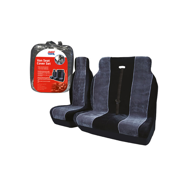Autocare Velour Van Seat Cover Set