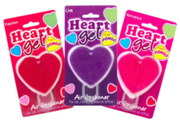 Pongo Gel Heart Air Freshener