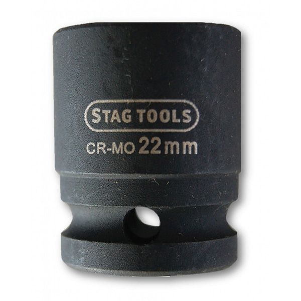 Stag Tools Super Lock Impact Socket 1/2 Drive 22mm
