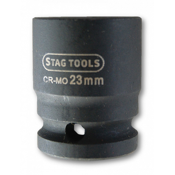 Stag Tools Super Lock Impact Socket 1/2 Drive 23mm