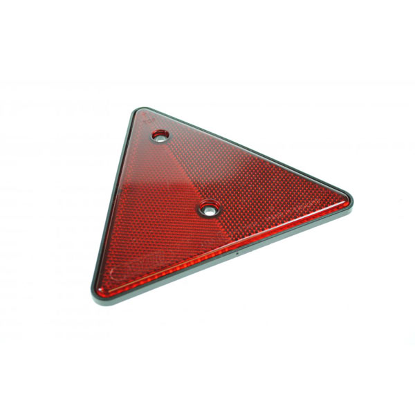 Maypole Trailer Rear Reflective Triangle with Red Safety Reflector