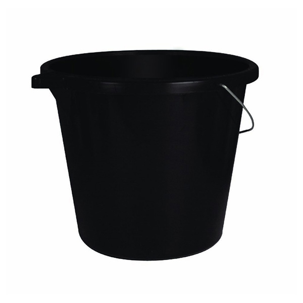 Autocare Black Builders Bucket - 15ltr