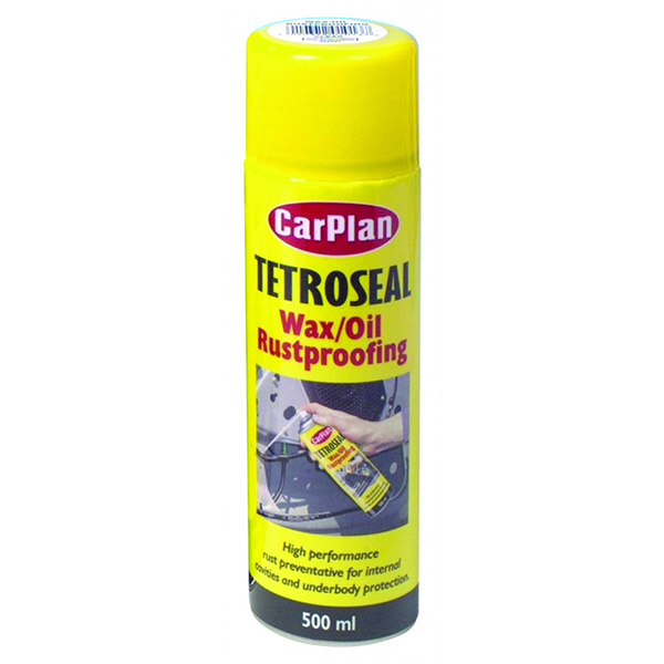 Carplan Tetroseal Wax Oil Black - 500ml Aerosol