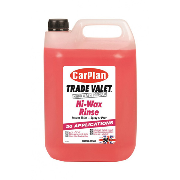 Carplan Trade Hi Wax Rinse - 5Ltr