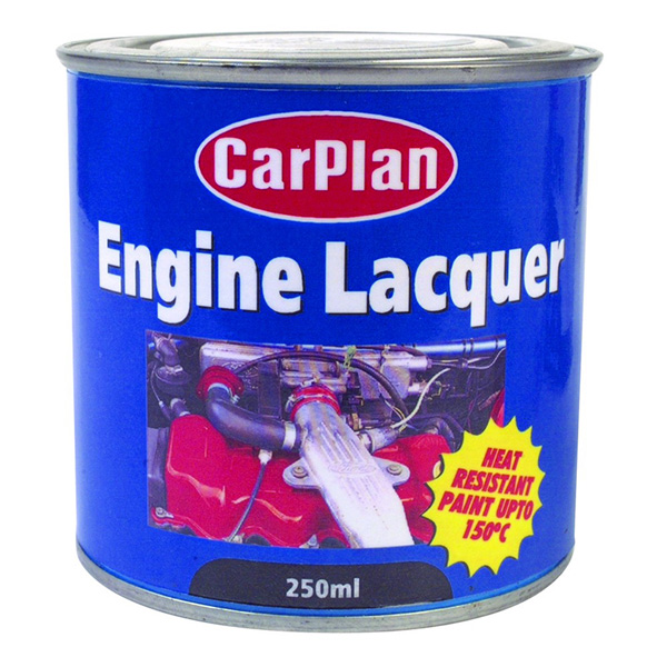 Carplan Engine Lacquer Matt Black - 250ml