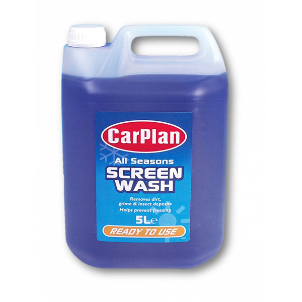 Carplan All Season Screen Wash Ready Mix - 5Ltr