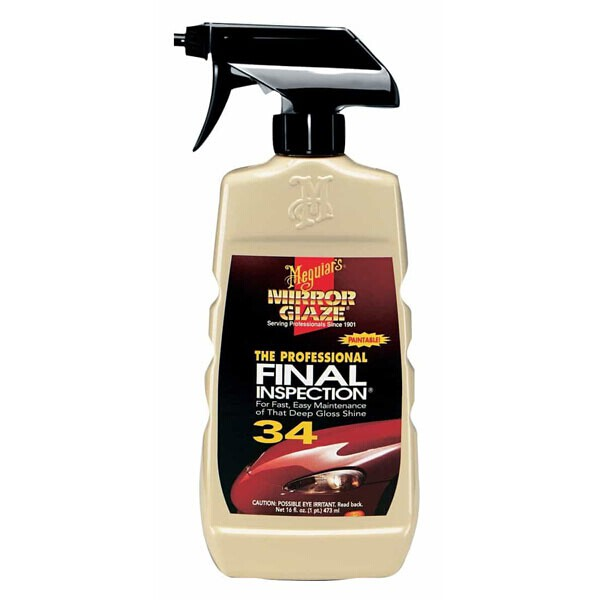 Meguiars Mirror Glaze 34 Professional Final Inspection 473ml