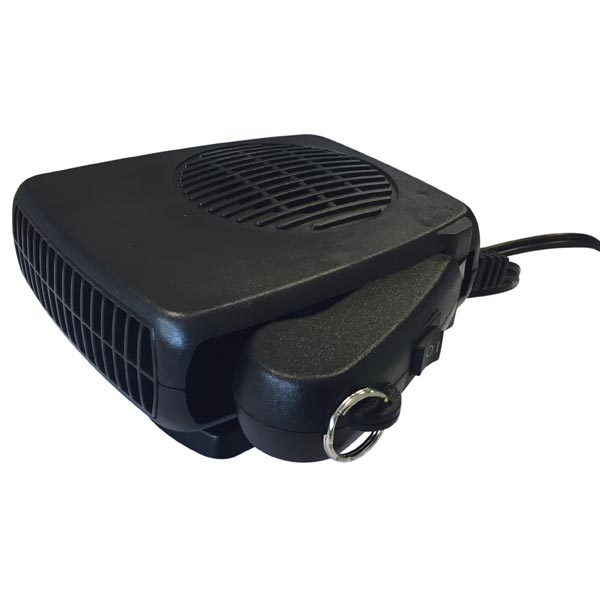Streetwize 12v Auto Heater/Defroster with Light