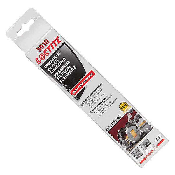 Loctite Loctite Gasket Maker High Performance Silicone Black 5910 80ml