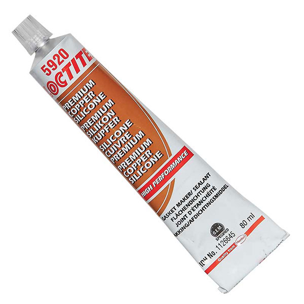 Loctite Loctite Gasket Maker High Performance Silicone  Copper 5920 80ml