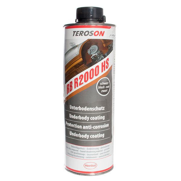 Teroson Terotex Record 2000HS Underbody Coating Black 1lt