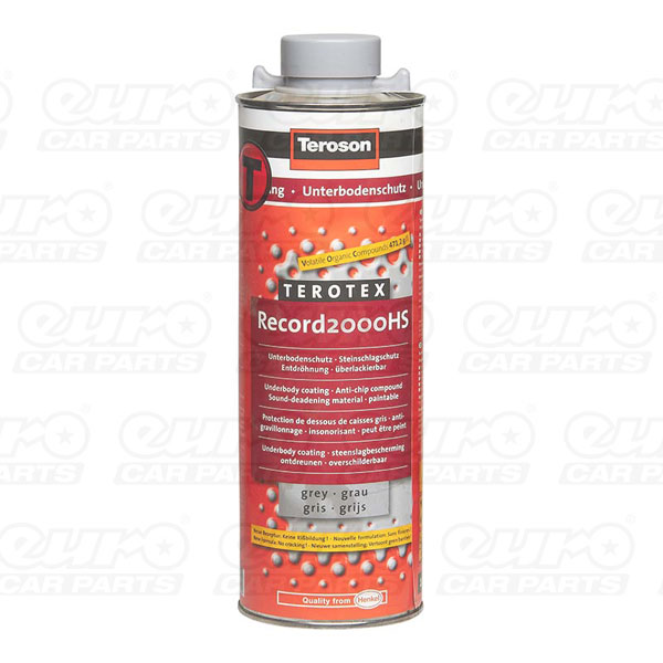 Teroson Terotex Record 2000HS Underbody Coating Grey 1lt
