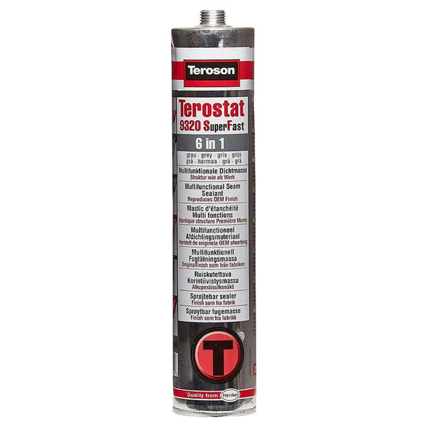 Teroson Terostat 9320 SF Sprayable Seam Sealant Grey 300ml