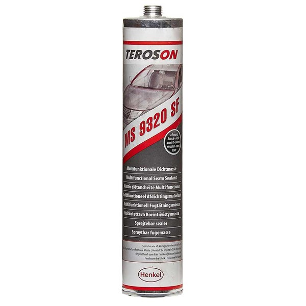 Teroson Terostat 9320 SF Sprayable Seam Sealant Black 300ml