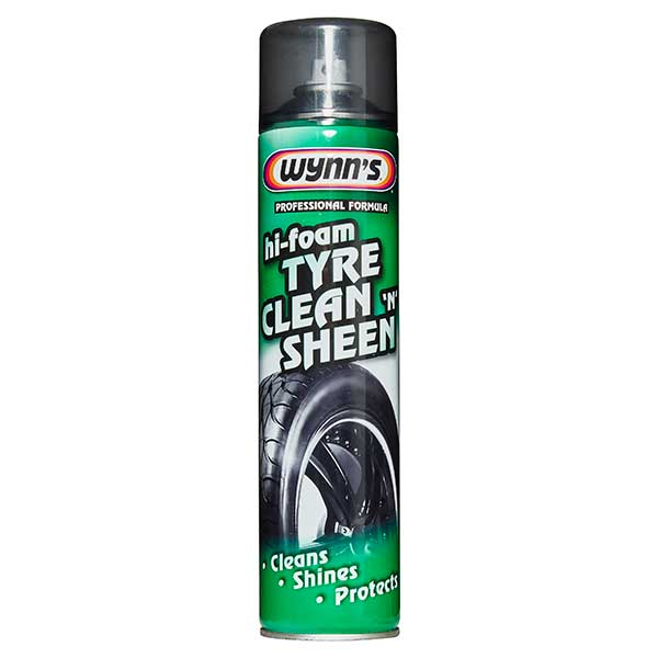 Wynns Hi-Foam Tyre Clean n Sheen 600 ml