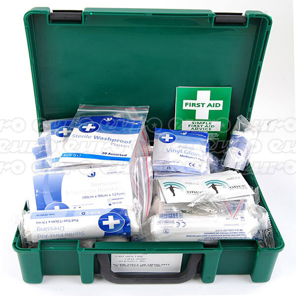 Euro Car Parts 10 Person Standard HSE Compliant First Aid Box