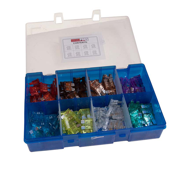 Pearl Box Of 160 Assorted Standard Blade Fuses