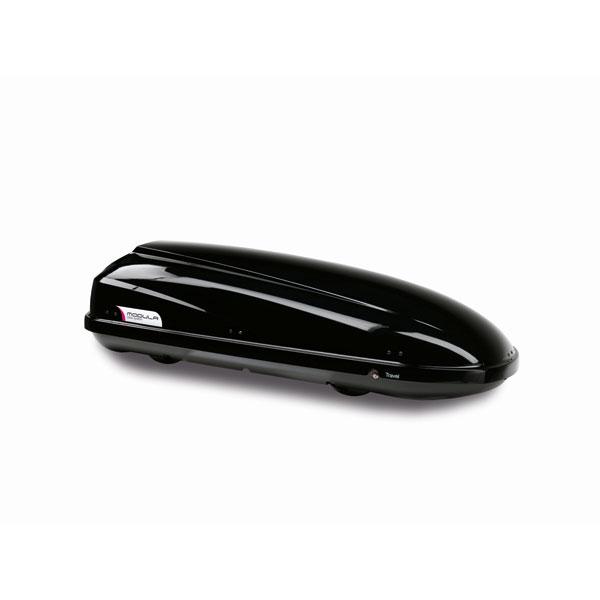 Modula Travel Exclusive 460 Black Gloss Large Roofbox  (Dimensions:197x70 8x47 9cm)