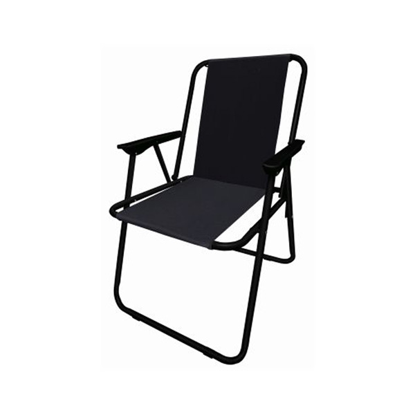 Redwood Folding Camp Chair - Black