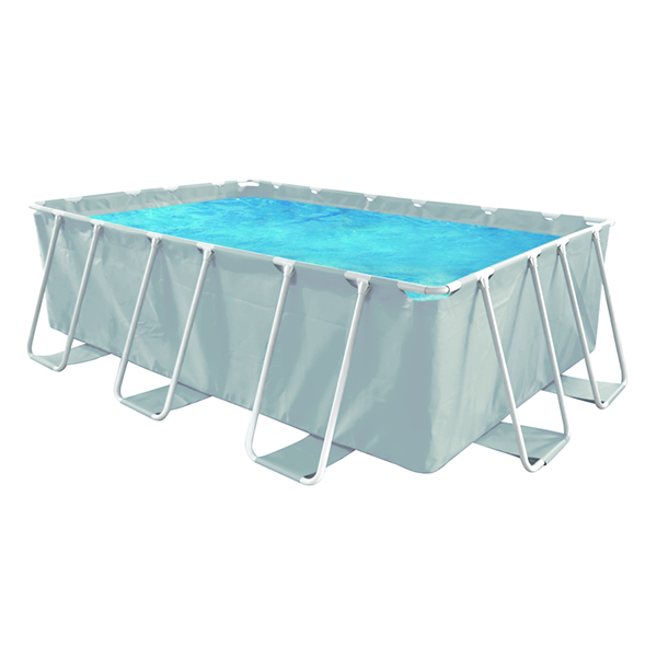 Quick Up Deluxe Frame Rectangle Pool Set with pump and ladder (3m x 1.75m x 0.8m) - AGP