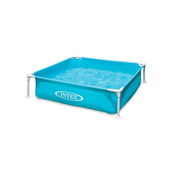Intex Frameset Mini Frame Swimming Pool (Square) 1.22 x 1.22 m (4 ft) - AGP