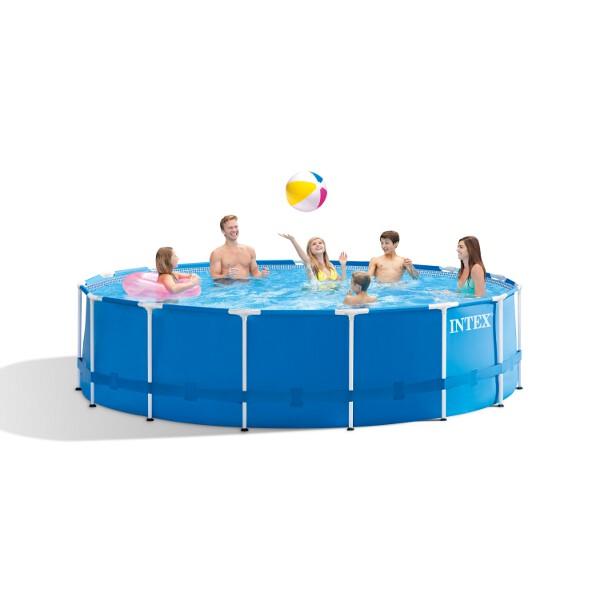 Intex Frameset Swimming Pool (Round) - 4.57 x 1.22mtr - AGP