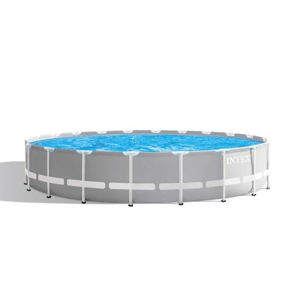 Intex Prism Metal Frame Swimming Pool (Round) - 6.1 x 1.32 m (20 ft) - AGP