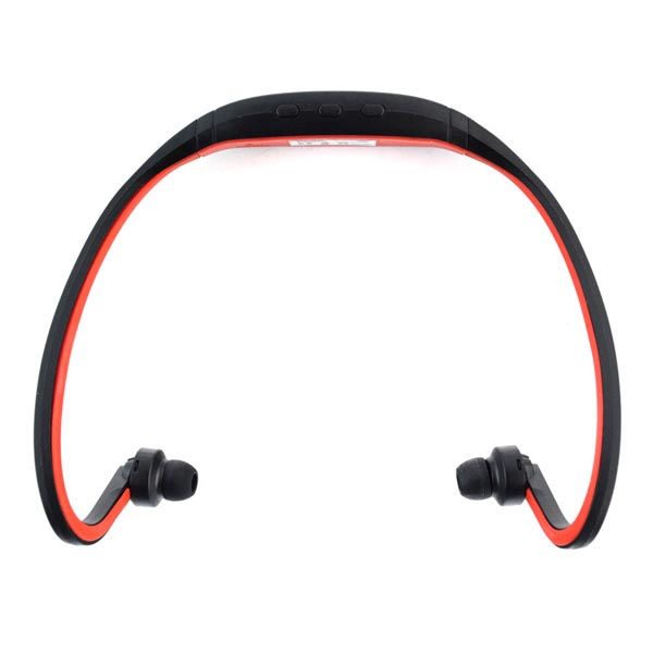 Pama Plug n Go 265 - Bluetooth sports neckband and headset with microphone and remote