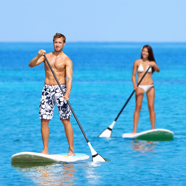 Stand Up Paddle SUP Board Red Inflatable & Paddle Pump Bag