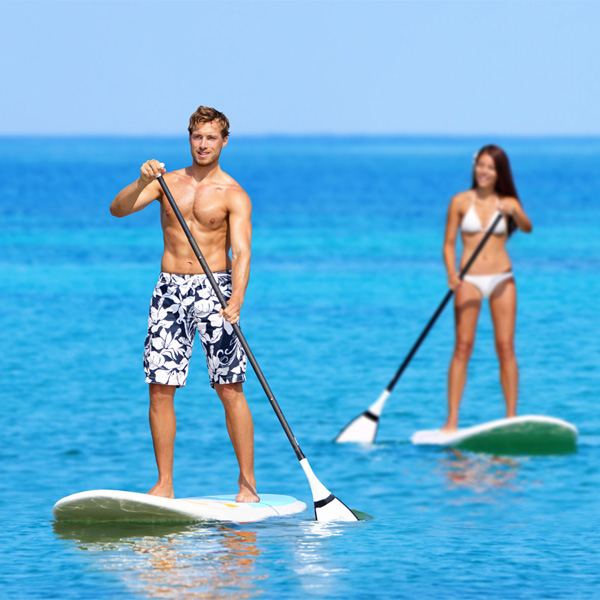 Stand Up Paddle SUP Board Blue Inflatable & Paddle Pump Bag