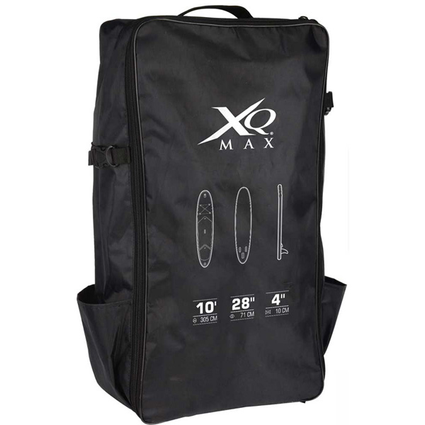 Stand Up Paddle SUP Board Black Inflatable & Paddle Pump Bag