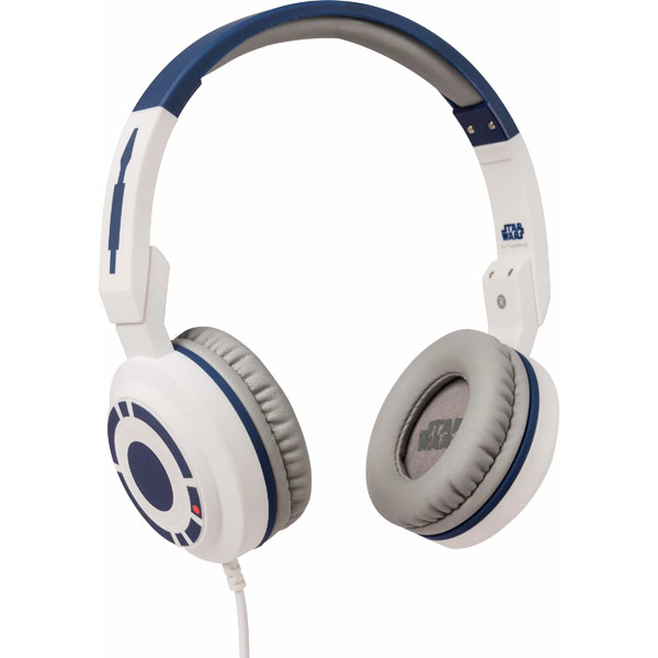 TribeTech Star Wars Headphones with Microphone - R2D2