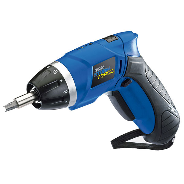 Draper Storm Force Cordless Li-Ion Screwdriver Kit (3.6V)