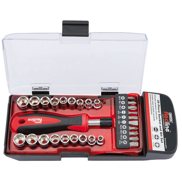 Draper Pocket Socket Set - 29 piece
