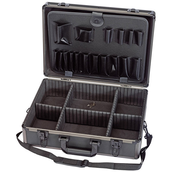 Draper Aluminium Tool Case (Black Finish)