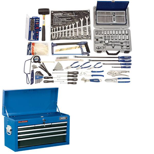 Draper Deluxe Workshop Tool Chest Kit